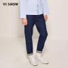 Wei Xiu (viishow) мужские молодежные джинсы прямые мужские брюки вымытые мужские длинные брюки tide NC1154171 джинсовые синие XL