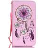 Розовый Белл Дизайн Кожа PU откидная крышка бумажника карты держатель чехол для IPHONE 5G