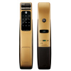 YALE замок двери отпечатков пальцев безопасности дома YMG40 золота стандартные модели двери не стандартные деревянные где купить