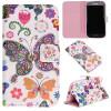 Красочные бабочки Дизайн PU кожа флип кошелек карты держатель чехол для SAMSUNG GALAXY Grand Neo Plus I9060