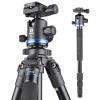 Benro (Benro) AF18 + Штатив алюминиевый штатив SLR Canon Nikon штатив камеры голова профессиональной фотографии пакет