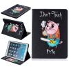 Свинья Стиль Выбивка Классический откидная крышка с функцией подставки и слот для кредитных карт для iPad Air/5 toyfa мастурбатор попка