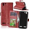 Браун Стиль Классический Флип Обложка с функцией подставки и слот для кредитных карт для Lenovo VIBE K5/K5 Plus/A6020 protect защитная пленка для lenovo vibe k5 plus a6020 матовая