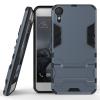 Темно-синий Slim Robot Armor Kickstand Ударопрочный жесткий корпус из прочной резины для HTC Desire 10 htc desire 650
