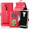 Red Style Classic Flip Cover с функцией подставки и слотом для кредитных карт для Asus Zenfone 2 Laser ZE601KL pink style classic flip cover с функцией подставки и слотом для кредитных карт для asus zenfone zoom zx551ml
