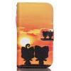 Али Дизайн Кожа PU откидная крышка бумажника карты держатель чехол для SAMSUNG G360 зеленый одуванчик дизайн кожа pu откидная крышка бумажника карты держатель чехол для samsung galaxy core prime g360