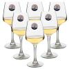 Выбор Jingdong [супермаркета] Ле Meiya Luminarc красного вина стекла вина стекла шампанского стекла 250 мл 6 Zhi книга вина