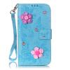 Голубая бабочка Дизайн PU кожа флип кошелек карты держатель чехол для LG G5 комфортные черные джоки