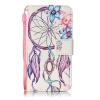 Цветок Белл Дизайн Кожа PU откидная крышка бумажника карты держатель чехол для IPHONE 7G цветочный дизайн кожа pu откидная крышка бумажника карты держатель чехол для iphone 7g