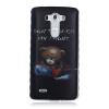 Медведь Pattern Мягкий тонкий ТПУ Резиновая крышка силиконовый гель чехол для LG G3 lg g3 s