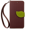 Коричневый Дизайн Кожа PU откидная крышка бумажника карты держатель чехол для HTC Desire 816 htc desire 650