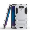 Серебряный Slim Robot Armor Kickstand Ударопрочный жесткий корпус из прочной резины для LG G6 красный slim robot armor kickstand ударопрочный жесткий корпус из прочной резины для vivo xplay6