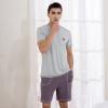 QIANXIU домашняя пижама хлопковая одежда V-образный вырез домашняя одежда фирмы гамма купить