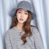 [Супермаркет] Jingdong ожесточенная Гданьск (шведские кроны) WMZ170778 шляпа женских корейские дикие открытых горшки ВС шляпы шляпа ткань шляпа темно-синяя свадебное платье 2015 wmz