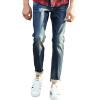 Carver пионерлагере упругие ноги джинсовые брюки мужские джинсы темно-синие брюки 611 004 34 carver пионерлагере мужская хлопок джинсовые брюки стрейч джинсовые брюки 611013 сине черный 29