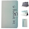 Butterfly Smile Style Classic Flip Cover с функцией подставки и слотом для кредитных карт для Samsung Galaxy Tab E T560