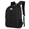 卡尼路Carneyroad商务休闲双肩包14英寸笔记本大容量学生书包黑色CR-637
