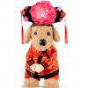 Клетка США Kojima домашних кошек и собак весело смешные одежды суд серии повернулся вертикально платье принцессы M
