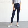 Однако, чистые (Rain.cun) джинсы женские талии джинсы корейской версии был тонкий плотный стрейч брюки ноги карандаш штаны 25 ярдов N2241 синий