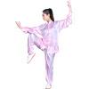 Zhu Бо Zooboo утренняя зарядка тай чи одежду среднего возраста одежду китайский кунг-фу боевые искусства спектакль одежду размером одежду XL Розовый игровые наборы zhu zhu babies игровой набор гнездо