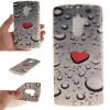 Сердце образный капли воды шаблон мягкой тонкой ТПУ резиновый силиконовый гель Дело Чехол для Lenovo A7010 сердце образный капли воды шаблон мягкой тонкой тпу резиновый силиконовый гель дело чехол для lenovo k5 note
