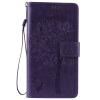 Purple Tree Design PU кожа флип крышку кошелек карты держатель чехол для HUAWEI Honor 5X
