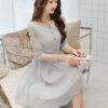 LAXJOY модное облегающее плиссированное платье шифона платье плиссированное с рисунком
