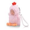 Бибер (Бибер) мини-серии Супер Мэн маленькие украшения спальные куклы умиротворить куклы плюшевые игрушки куклы моделирования детские игрушки высокой 10CM очаровательны розовый бархат курица Абердин