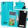 BlueStyle Classic Flip Cover с функцией подставки и слотом для кредитных карт для Lenovo Vibe C/A2020 чехол защитный skinbox lenovo vibe c a2020