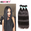 Фото Peruvian Virgin Hair Straight 3 Bundles Peruvian Straight Hair 5A Unprocessed Virgin Peruvian Straight Human Hair Weave Bundles