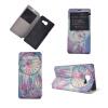 Розовый Dreamcatcher Дизайн Кожа PU откидной крышки Кошелек для карты памяти чехол для Samsung Galaxy A9/A9000 карты памяти