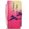 Ангел Девочка Дизайн Кожа PU откидная крышка бумажника карты держатель чехол для IPHONE 5 цветочный дизайн кожа pu откидная крышка бумажника карты держатель чехол для iphone 7g
