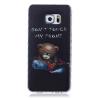 Медведь Pattern Мягкий тонкий ТПУ Резиновая крышка силиконовый гель чехол для SAMSUNG GALAXY S6 Edge Plus сотовый телефон xiaomi redmi note 5a prime 3gb ram 32gb grey