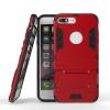 Красный Slim Robot Armor Kickstand Ударопрочный жесткий корпус из прочной резины для IPHONE 7 PLUS чехол для iphone 7 sgp slim armor 042cs20842 ультра черный