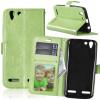 Зеленая классическая флип-обложка с функцией подставки и слотом для кредитных карт для Lenovo VIBE K5/K5 Plus/A6020 белая классическая откидная крышка с функцией подставки и слотом для кредитных карт для lenovo vibe k5 k5 plus a6020