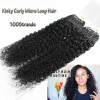 Micro Loop Ring Hair Extensions Brazilian Virgin Hair Easy Loop Off Black Curly Micro Bead Loop Hair Extensions 100% brazilian virgin remy hair 18 ash blonde double drawn straight micro bead loop ring hair extensions 1g s