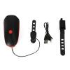 KANSOON велосипедная передняя фара, USB зарядный велосипедный фонарь LED горного велосипеда, фонарь ночного видения, фонарь для е