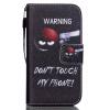 Снайпер Дизайн Кожа PU откидная крышка бумажника карты держатель чехол для IPhone 4S цветочный дизайн кожа pu откидная крышка бумажника карты держатель чехол для iphone 7g