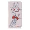 Жираф дизайн Кожа PU откидная крышка бумажника карты держатель чехол для BQ Aquaris M5 семь цветов цветы дизайн кожа pu откидная крышка бумажника карты держатель чехол для bq aquaris m5