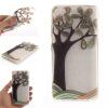 Ручная роспись деревья шаблон мягкой тонкой ТПУ Резиновая крышка случая силикона геля для Lenovo S90