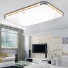 TCL LED потолочный светильник 27W холодный белый золото Chi современный минималистский гостиной лампы спальни лампа ресторан огни офиса светильники прямоугольной формы лампы 65 * 43 * 10.5cm современный ресторан