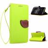 Зеленый дизайн Кожа PU откидная крышка бумажника карты держатель чехол для Asus ZenFone 5 тотем цветы дизайн кожа pu откидная крышка бумажника карты держатель чехол для asus zenfone5