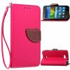 Розовый Дизайн Кожа PU откидная крышка бумажника карты держатель чехол для Huawei Y5c/Honor Bee