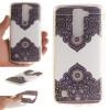 Диагональ тотем шаблон Мягкий чехол тонкий ТПУ резиновый силиконовый гель чехол для LG K7