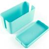 Inman (Etman) коробка управления синий ряд ящик для хранения шнур питания / проволока отделка коробка коробка коробка гнездо штепсельная вилка буксировочная коробка
