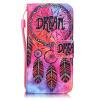 Мечта Дизайн PU кожа флип кошелек карты держатель чехол для LG K7