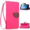 Розовый Дизайн Кожа PU откидная крышка бумажника карты держатель чехол для ASUS ZenFone 2 Laser (ZE550KL) zenfone 2 laser
