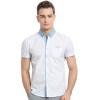 xiangsiniao мужская повседневная хлопковая рубашка с набивкой no 21 хлопковая рубашка с перьями