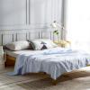 DAPU (DAPU) является ядром текстильной категории A одеяло хлопчатобумажное трикотажное жаккардовое лето прохладно было вязаным голым тонким кондиционером было светло-голубым 200 * 230 см