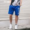 Вэй Xiu viishow случайные шорты мужские спортивные шорты брюки буквы вышивка мужские брюки KD12921721 синий L шорты спортивные topman topman to030emuws10